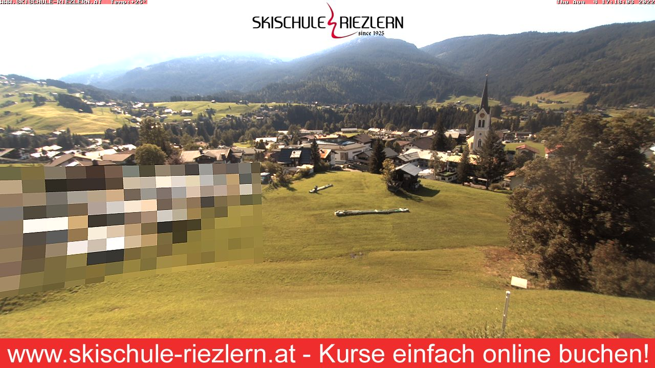 Webcam Riezlern - Kinderland - 1.110 m