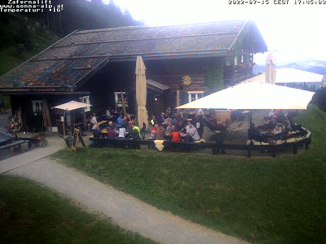 Zafernahütte Bergstation