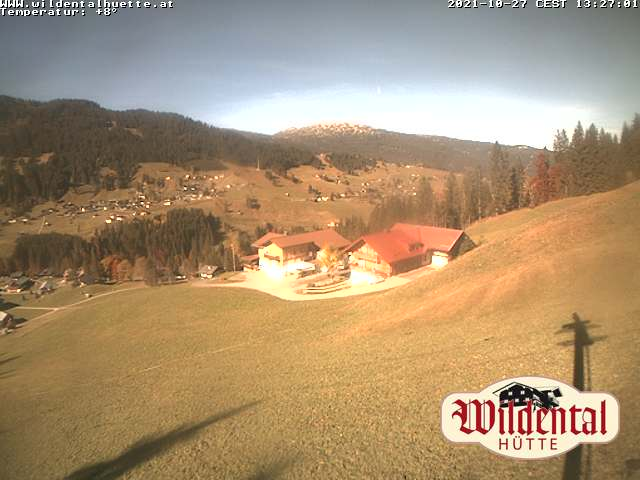 Webcam Wildentalhütte